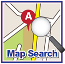 Interactive Map Search Icon/Button